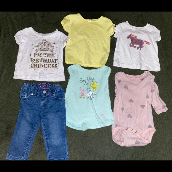 Toddler Girl Clothes Bundle Size 6-9 Months